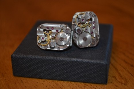 Watch Movement Cufflinks/Steampunk Cufflinks Review