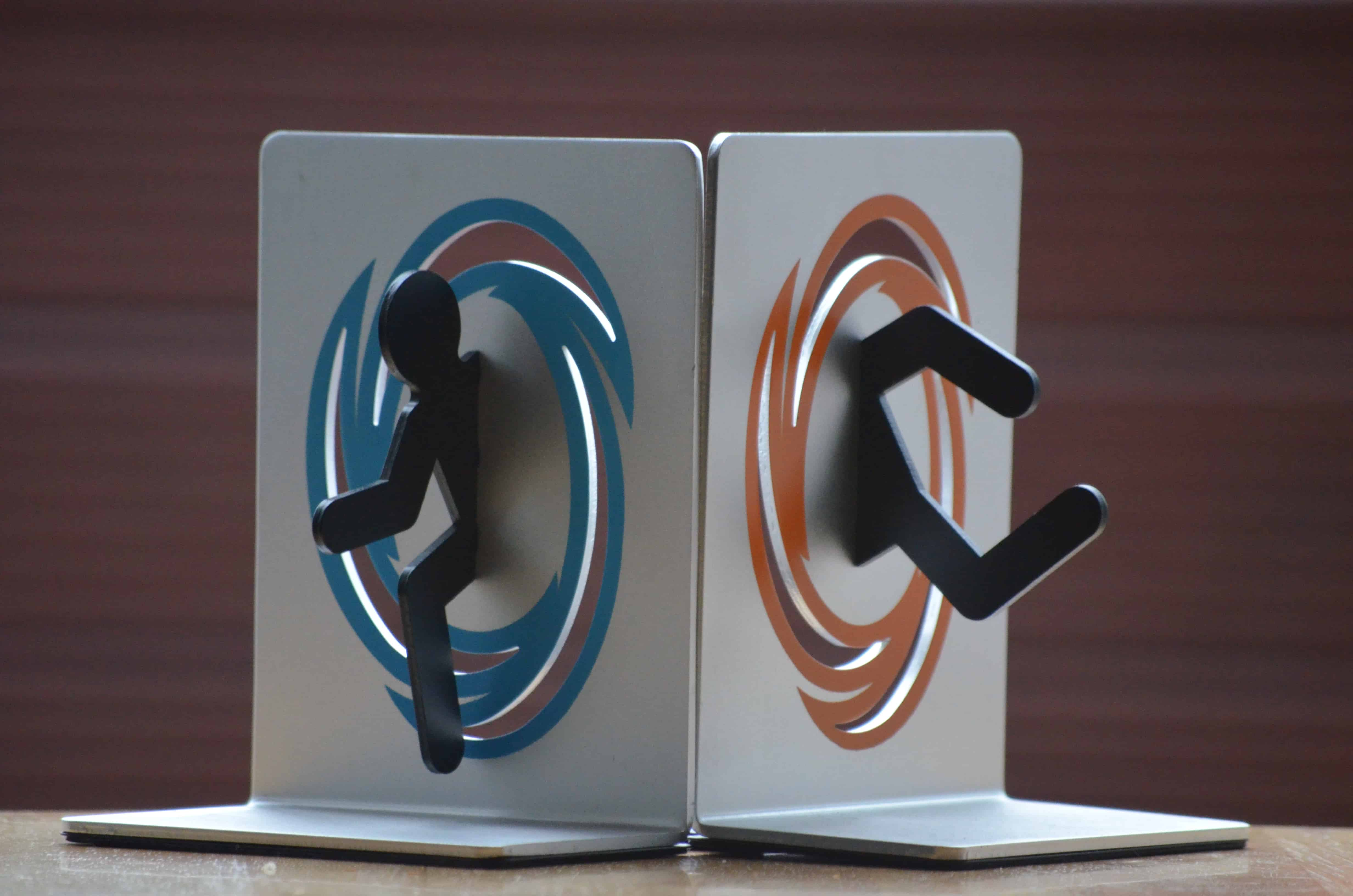 Portal 2 bookends reviewify - Portal book ends ...