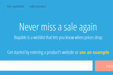 Buyable.me price tracking website review