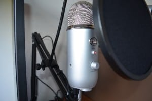 Mic filter and boom