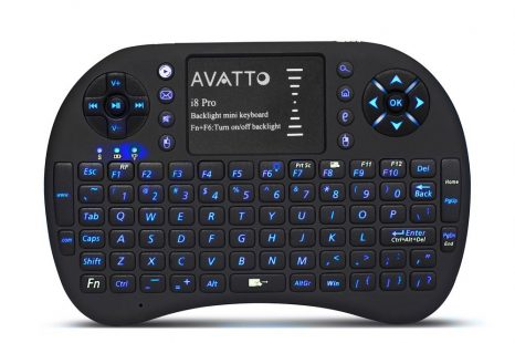 AVATTO i8 Pro Portable Backlit Wireless Mini Keyboard Review
