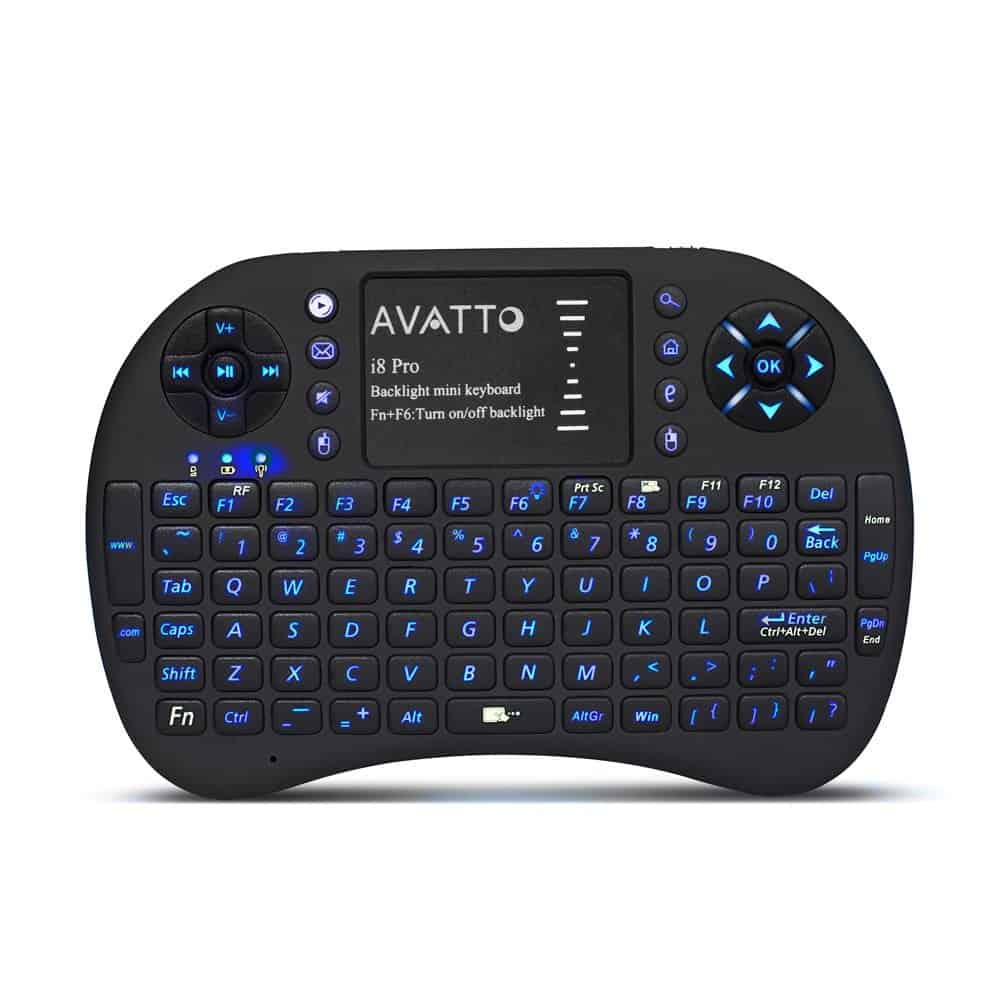 AVATTO i8 Pro LED Backlit Mini Keyboard