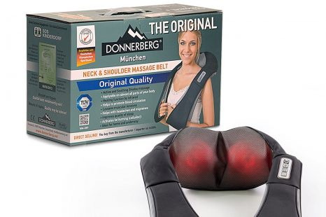 Donnerberg NM089 Neck and Shoulder Shiatsu Massager Review