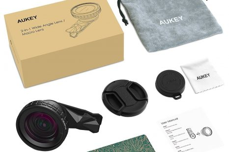 AUKEY 2 in 1 Lens Kit for mobiles review