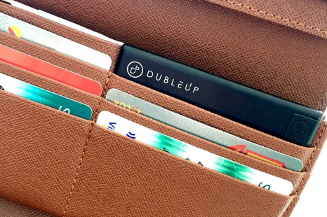 Dubleup credit card sized power bank review