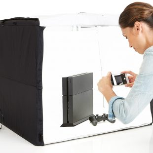 AmazonBasics portable photo studio review