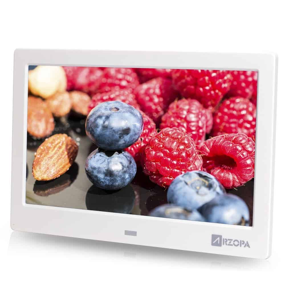 Arzopa 10 inch Widescreen Digital Photo Frame