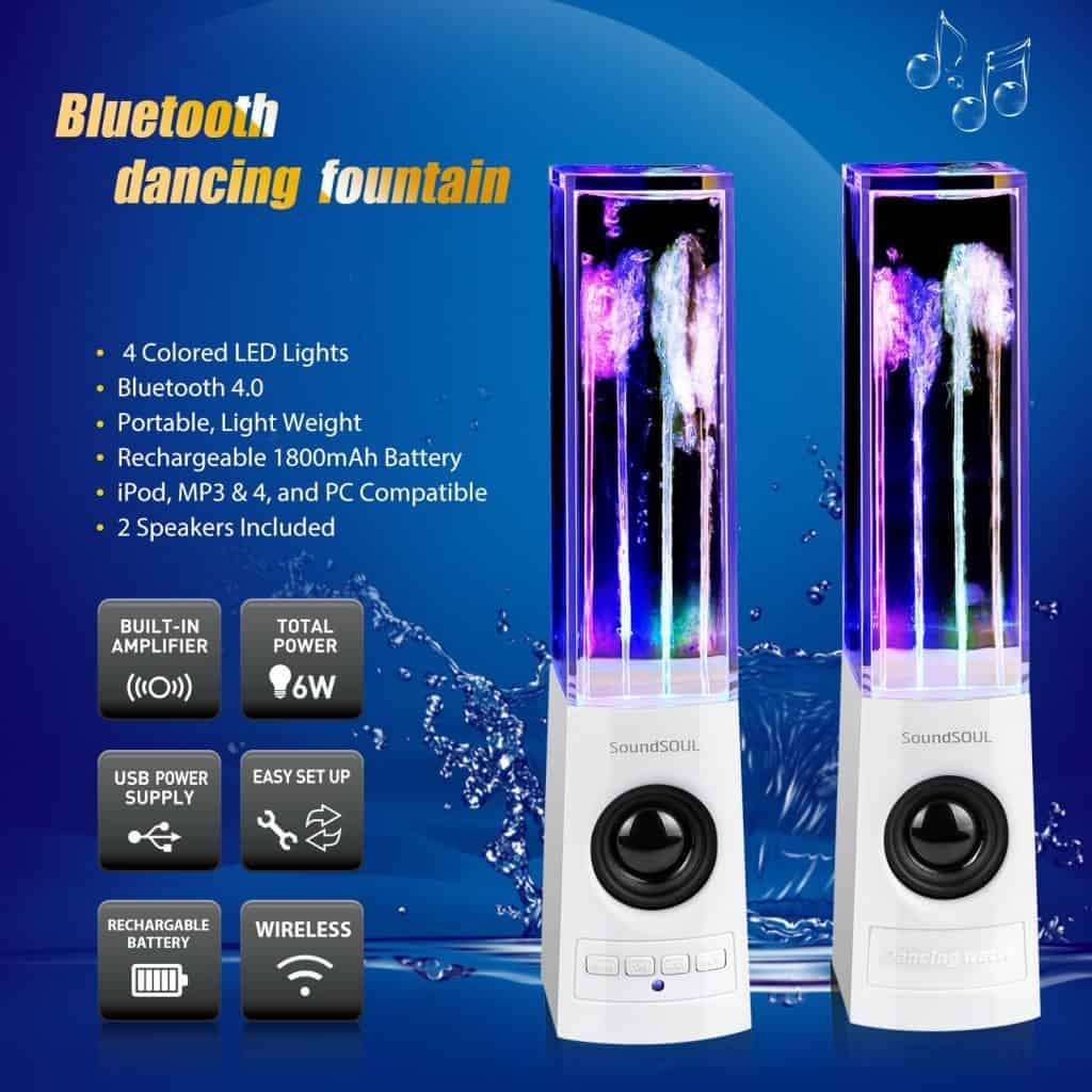 SoundSOUL Bluetooth Water Speakers