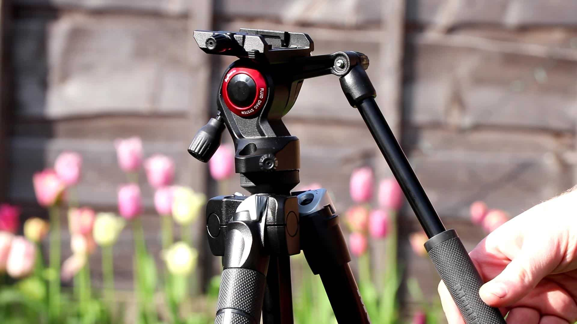 Manfrotto BeFree Tripod with Fluid Head