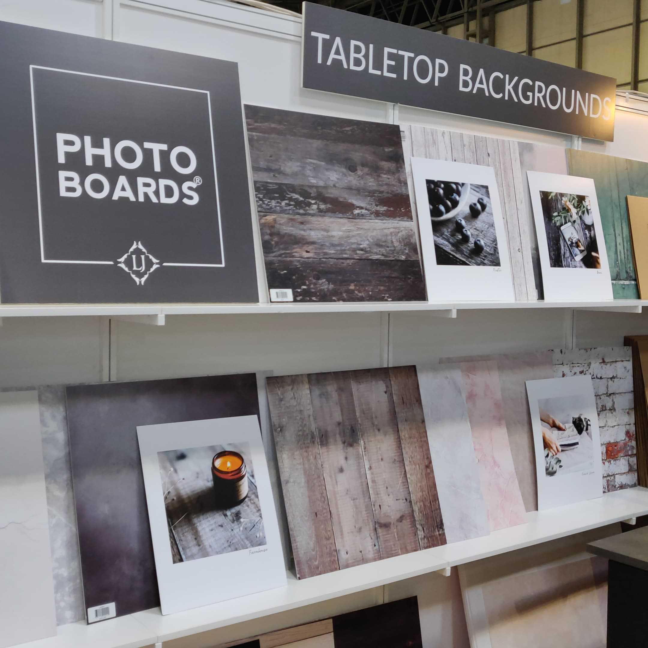 Photoboards.org display stand