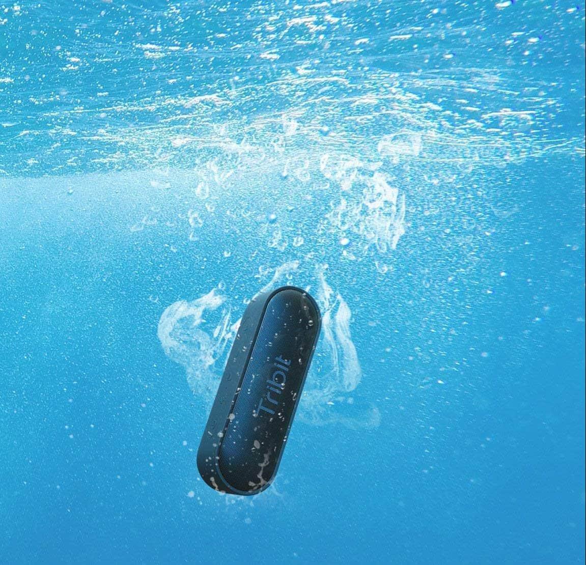 Tribit XSound Go Bluetooth Speaker Underwater
